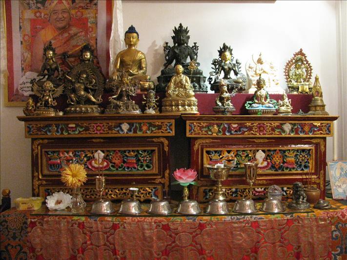 Visit the Sakya Thegchen Ling
