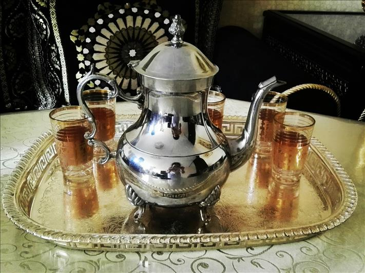 A cup of tea with a Moroccan family